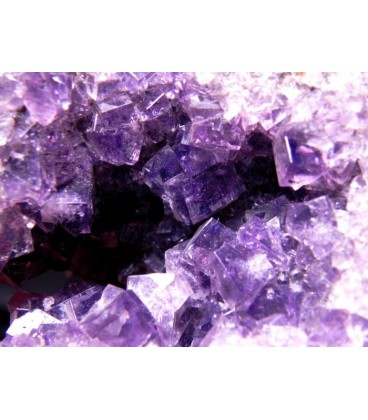 Fluorite - Pike Law Mines, Newbiggin, Teesdale, North Pennines, Co. Durham, England, UK