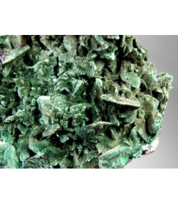 Malachite after Azurite - Milpillas Mine, Cuitaca, Mun. de Cananea, Sonora, Mexico