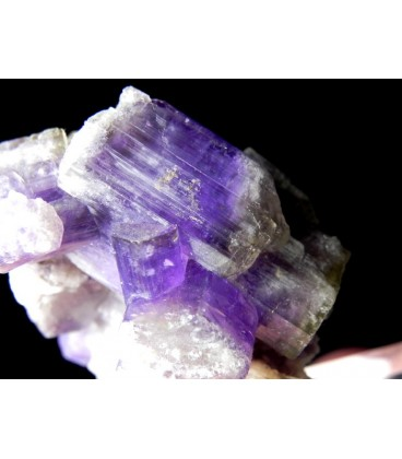 Purple Apatite -  Shengus, Haramosh Mts., Skardu District, Baltistan, Gilgit-Baltistan, Pakistan