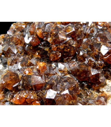 Spessartine - Wushan Spessartine Mine, Tongbei, Yunxiao Co., Zhangzhou Prefecture, Fujian Province, China
