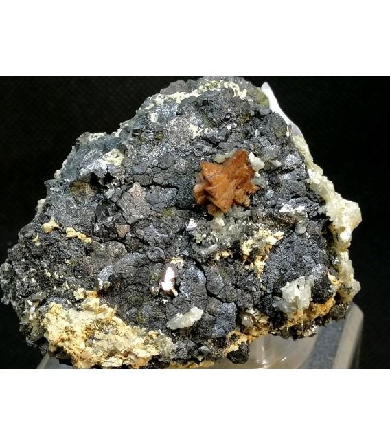 Helvite Magnetite - Huanggang Mine  Inner Mongolia China