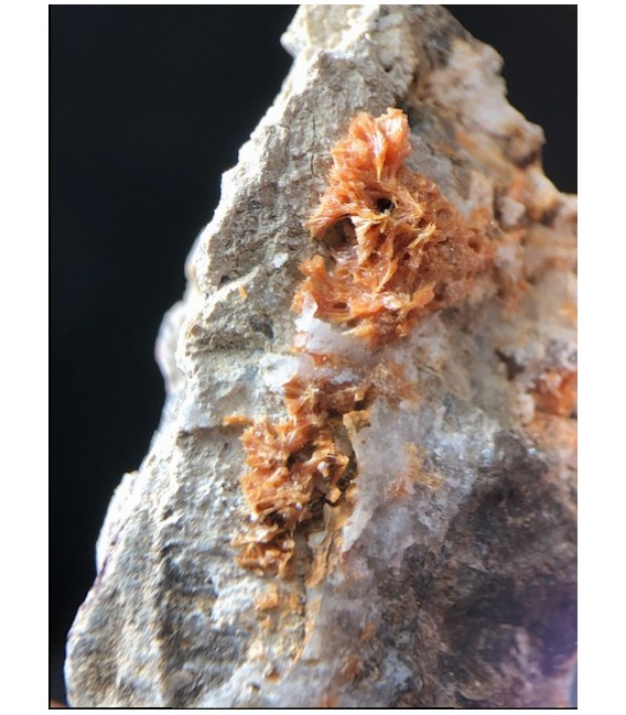 Pyroxmangite - Molinello mine Val Graveglia Italy