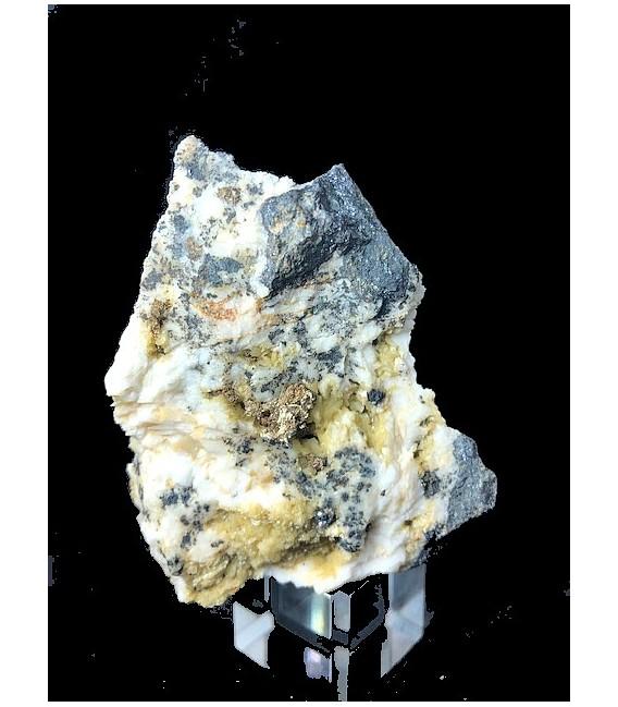 Silver, San Giovanni mine, Sardinia, Italy