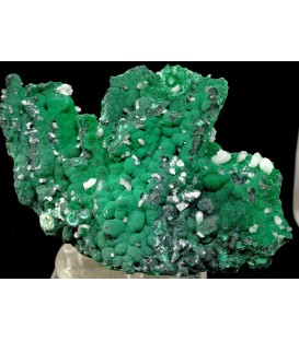 Cerussite Malachite -   PalabandaM'fouati District, Bouenza Department, Republic of the Congo