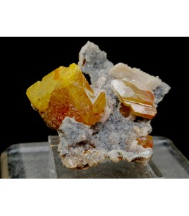 Wulfenite - M'fouati District, Bouenza Department, Republic of the Congo
