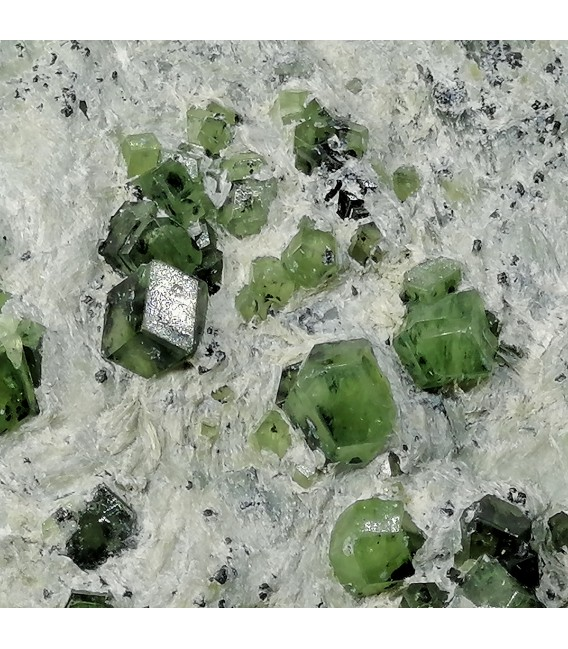 Demantoide  - Wadh mine Balochistan Pakistan
