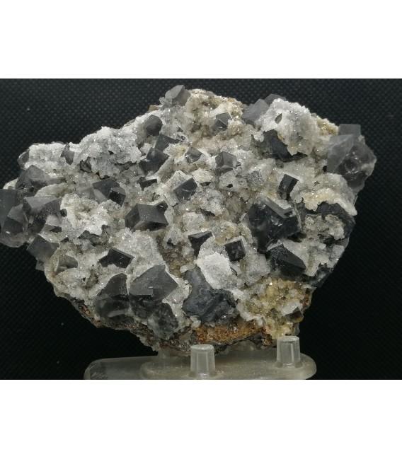 Fluorite -Purple Haze pocket, Diana Maria mine, Frosterley, Weardale UK