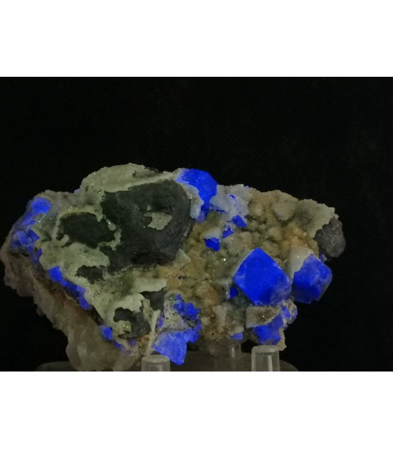 Galena Fluorite -Galena pocket, Diana Maria mine, Frosterley, Weardale UK