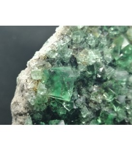 Fluorite - Diana Maria mine, Frosterley, Weardale UK