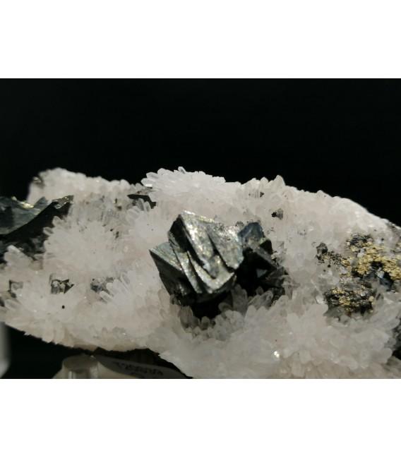 Quartz Tetraedrite - Cavnic Romania