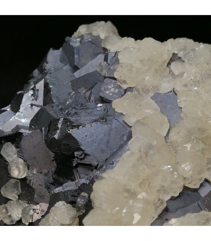 Galena Calcite   -Clausthal-Zellerfeld, Goslar District, Lower Saxony, Germany