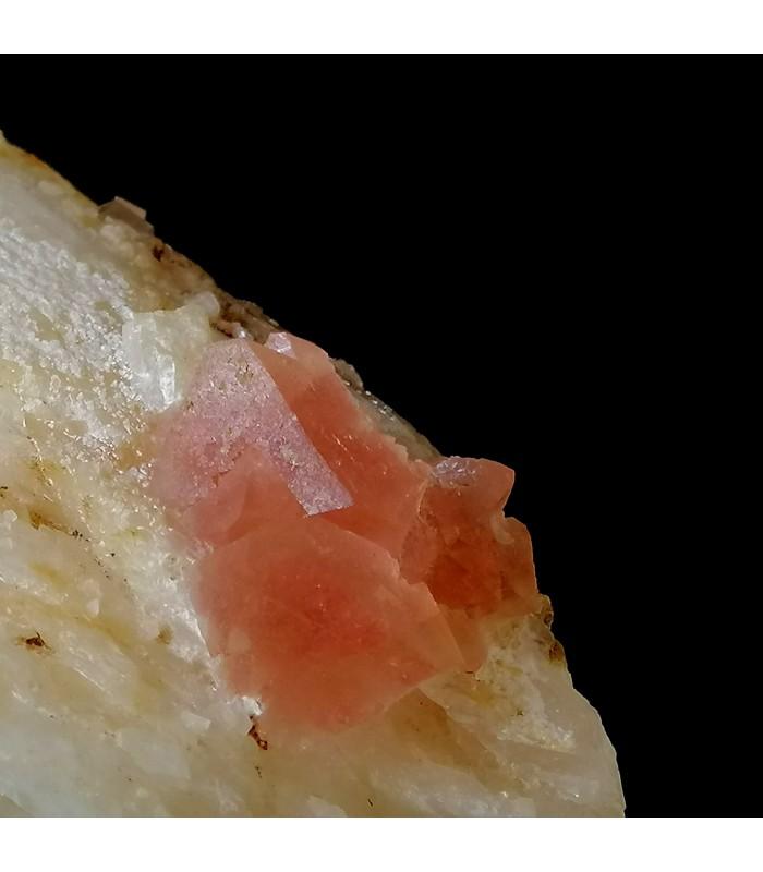 Pink Fluorite - Aguille Verte Chamonix France