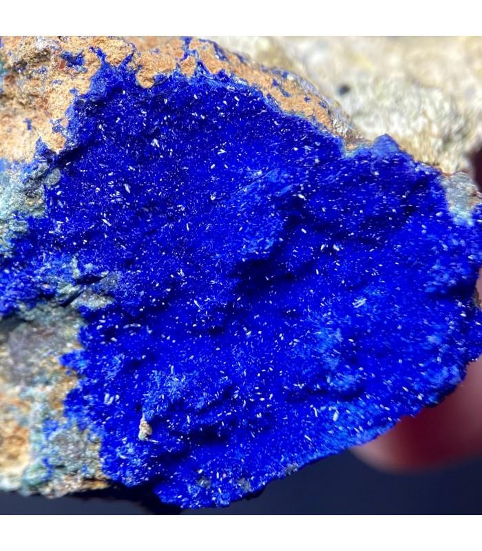 Azurite - Morenci Mine Copper Mountain Mining District, Greenlee Co., Arizona, USA.