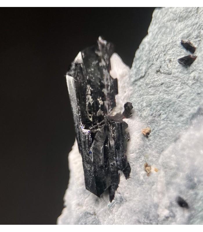Neptunite  - Benitoite gem mine San Benito co USA
