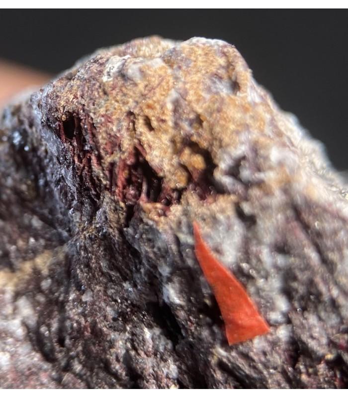 Romeite- Praborna mine, S. Marcel, Aosta Valley, Italy
