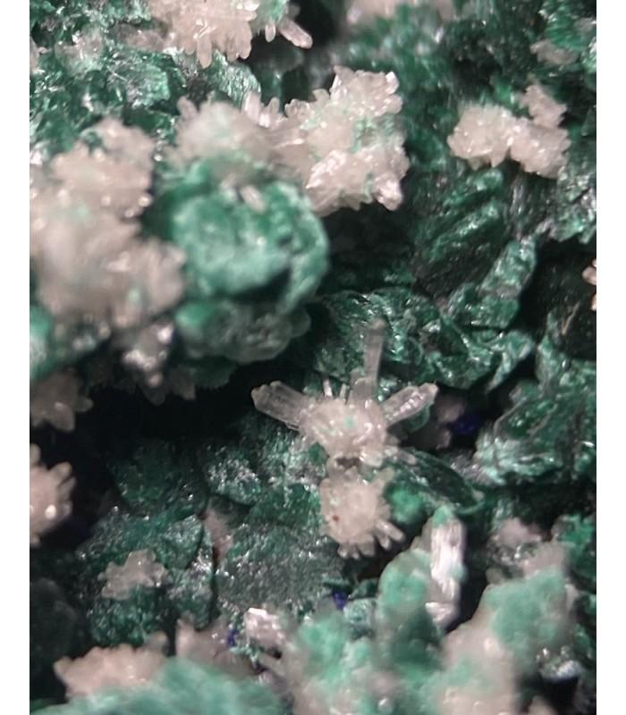 Malachite, Cerussite, Azurite -   Aouli,  Meknès-Tafilalet, Morocco