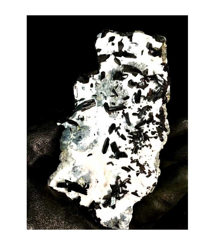 Neptunite - Benitoite gem mine San Benito co USA