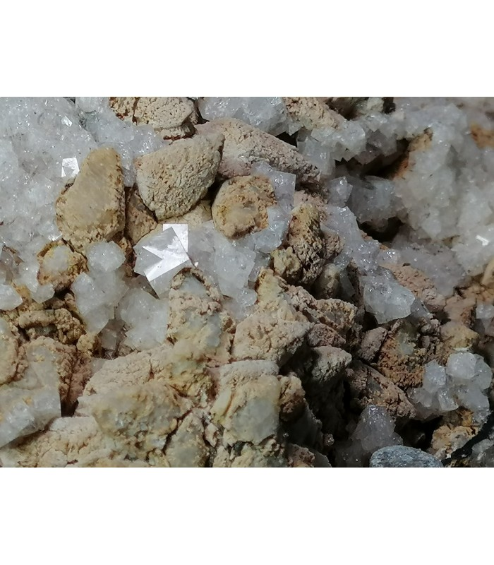 Chabasite Calcite  - Bocca Pietore Palue Belluno  Italy