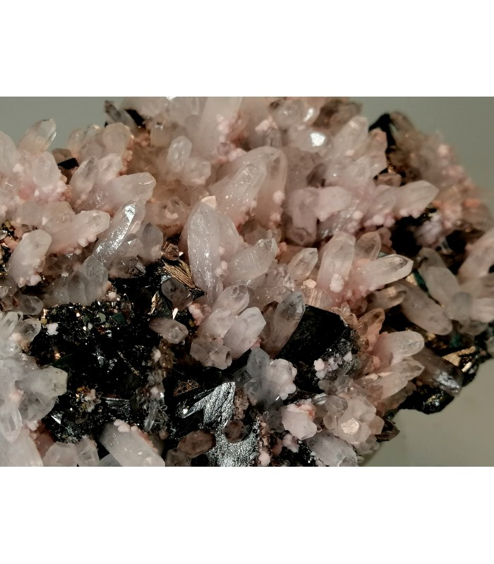 Rodocrosite Quarzo Sphalerite  - Cavnic Romania