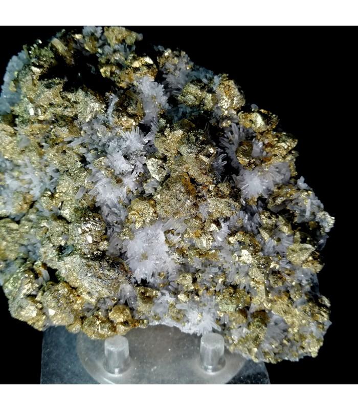 Chalcopirite Quartz    - Cavnic Romania