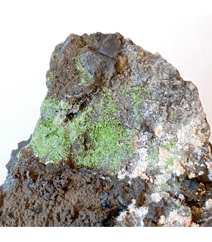 Conichalcite - Cassagna mine Val Graveglia Italy