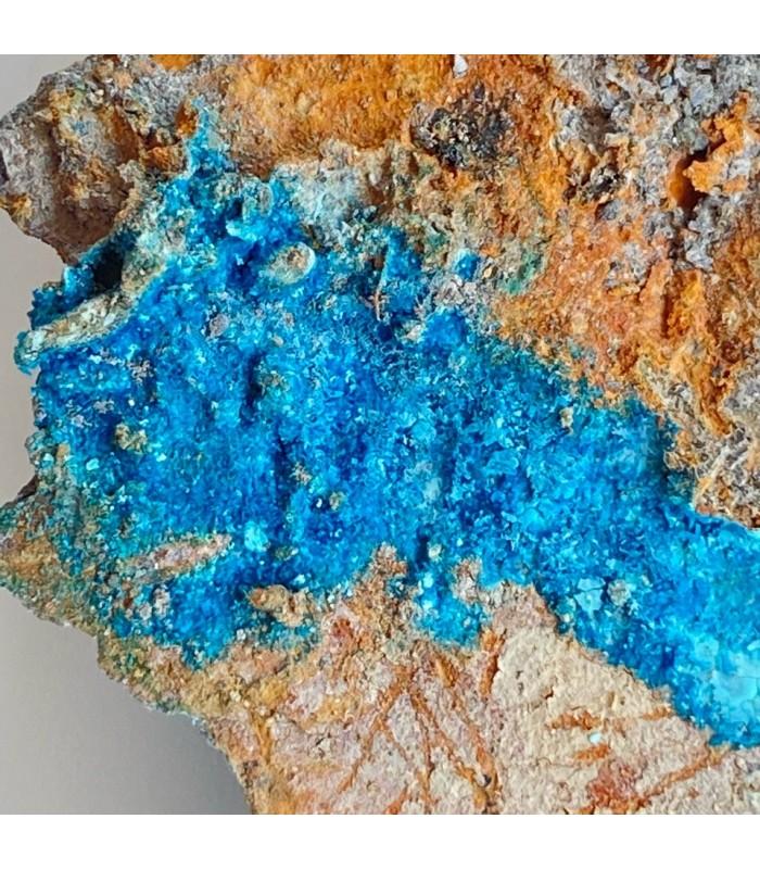 Langite - Reppia Mine, Liguria, Italy
