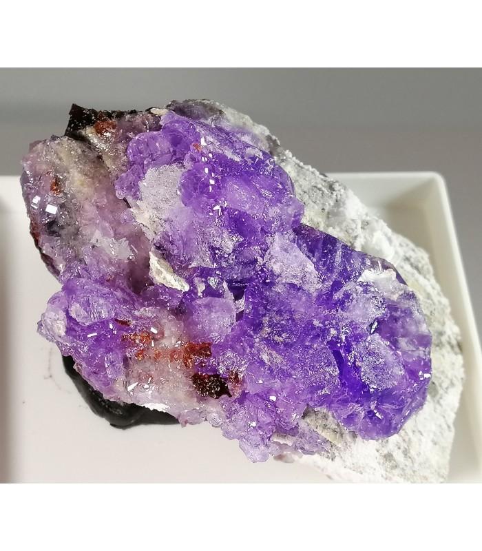 Coquimbite, Roemerite - M. Arsiccio mine, Sant'Anna di Stazzema - Lucca prov. -  Apuan Alps - Tuscany - Italy
