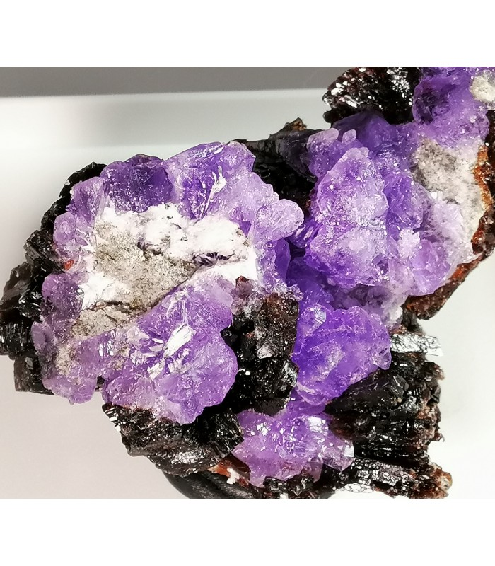 Coquimbite,Krausite, Roemerite - M. Arsiccio mine, Sant'Anna di Stazzema - Lucca prov. -  Apuan Alps - Tuscany - Italy