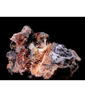 Cerussite - Monteponi mine Iglesias Sardinia Italy