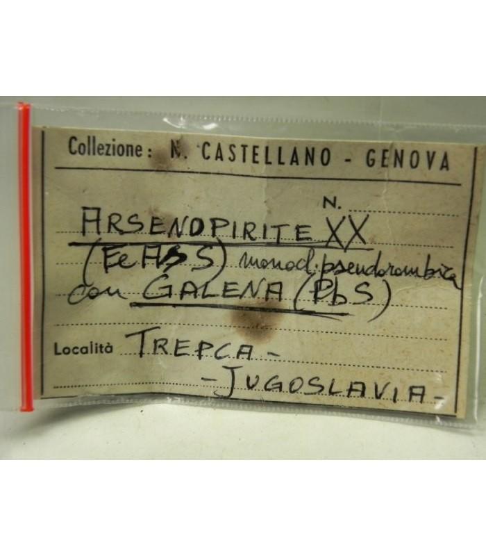 Arsenopyrite Galena - Trepca Kossovo