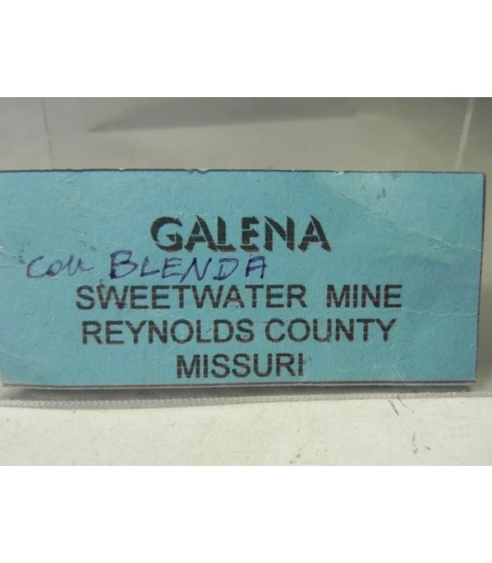 Galena Sphalerite- Sweetwater mine Missouri USA