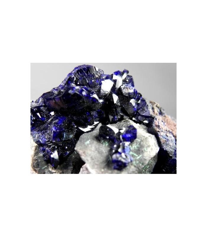 Azurite - Milpillas Mine, Cuitaca, Mun. de Cananea, Sonora, Mexico