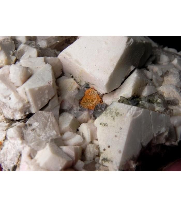Gadolinite Orthoclase -Oltrefiume quarry Baveno  Italy