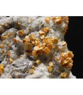 Vanadinite -San Carlos Mine, San Carlos, Mun. de Manuel Benavides, Chihuahua, Mexico