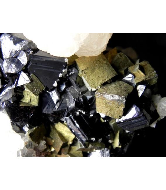 Calcite Sphalerite Arsenopyrite  - Trepca mine Kossovo