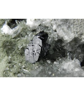 Babingtonite - Nashik quarry, Nashik District, Maharashtra, India