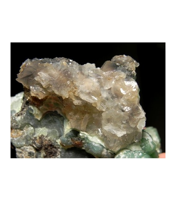 Smithsonite-  Treasure Hawk mine Tooele Utah