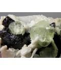 Sphalerite, Fluorite - Dalnegorsk, Primorskiy Kray, Far -Eastern Region, Russia