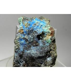 Carbonatocyanotrichite- Funtana raminosa mine Sardinia Italy