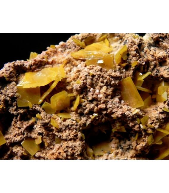 Wulfenite - Toussit Morocco