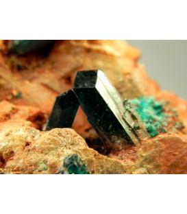 Dioptase- Tsumeb mine Namibia