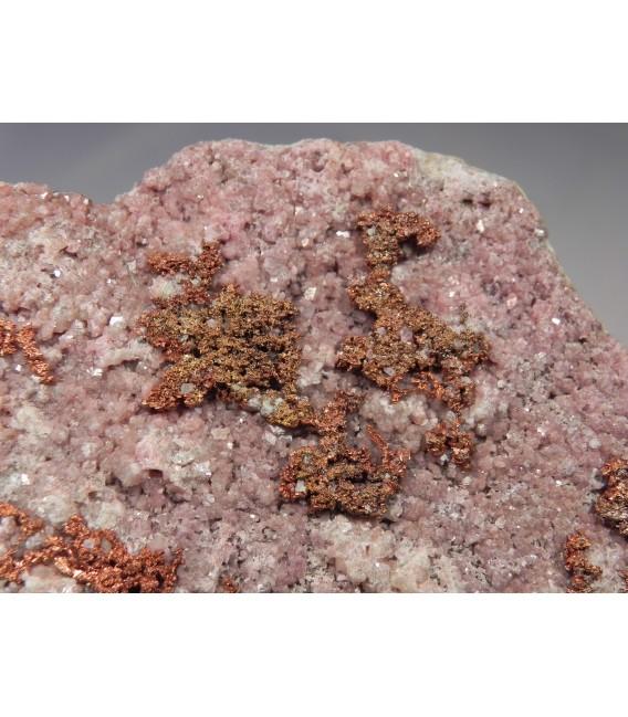Cobaltoan Calcite - Aghbar Mine, Bou Azer District,  Ouarzazate Province,Morocco