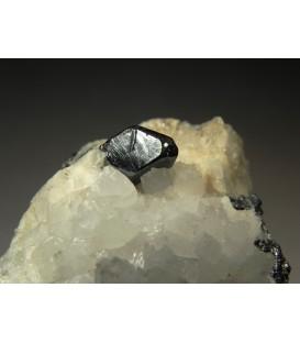 Acanthite - Uchucchacua Mine, Oyon Province, Lima Department, Peru