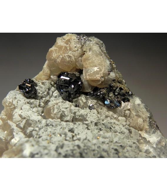 Pearceite Proustite - Uchucchacua Mine, Oyon Province, Lima Department, Peru