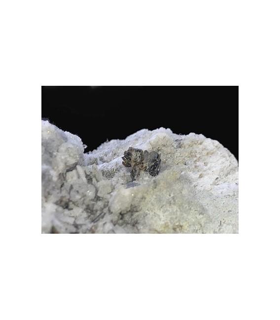 Stilbite - Miage Glacier M. Blanc Aosta Italy
