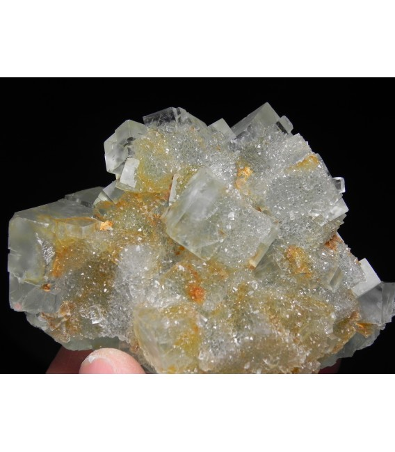 Fluorite - Marsanges Mine, Langeac, Haute-Loire, Auvergne-Rhône-Alpes, France
