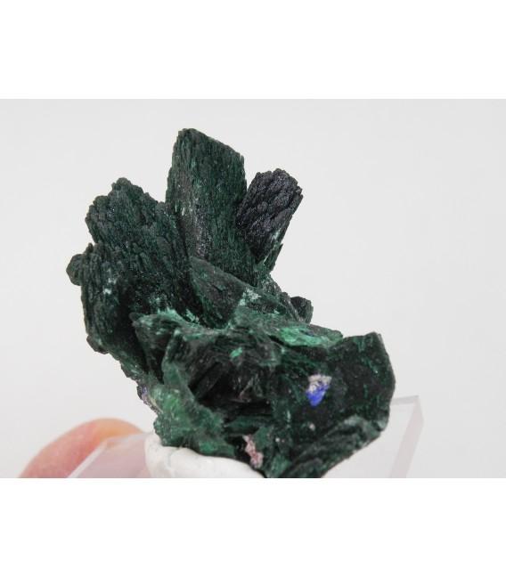Malachite after Azurite - Milpillas Mine, Cuitaca, Mun. de Cananea, Sonora, Mexico
