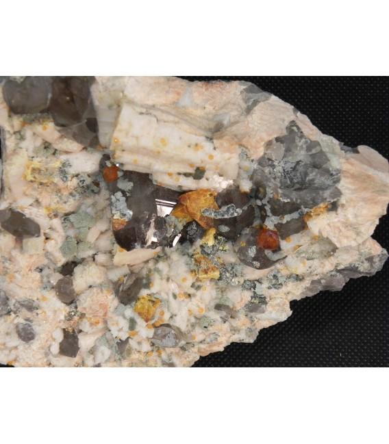 Spessartine - Wushan Spessartine Mine, Tongbei, Yunxiao Co., Zhangzhou Prefecture, Fujian Province, China