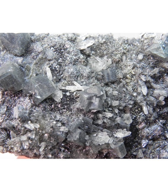 Fluorite Bismutinite  - Huanggangliang Mine ineer Mongolia China