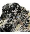 Hematite Fluorite Quartz-  Les droites Talefre M. Blanc France